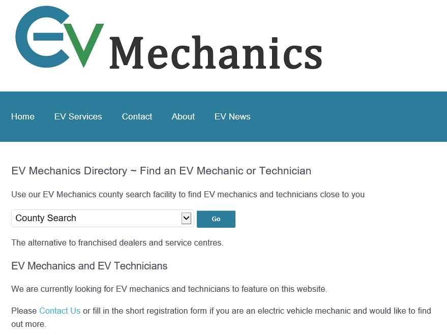 EV Mechanics Directory